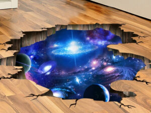 Purple Galaxy Wall Decals