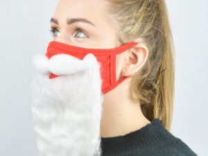 Safe Santa Face Masks