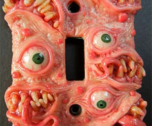 Scary Monster Lightswitch Cover