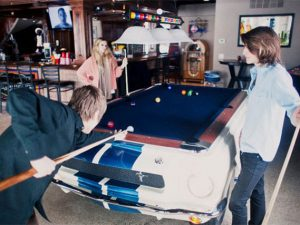 Shelby Gt 350 Pool Table 1