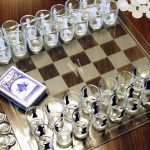 Shotglass Chess Game