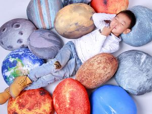 Solar System Pillow Set