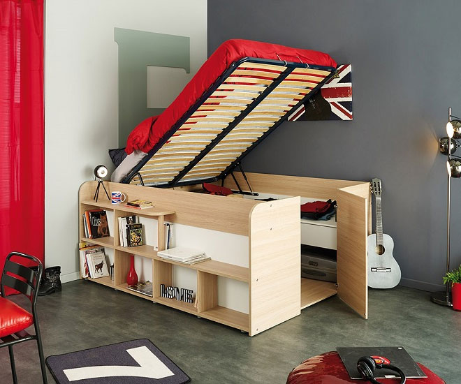 Space Up Bed And Storage 1