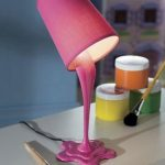 Spilled Paint Lamps 1