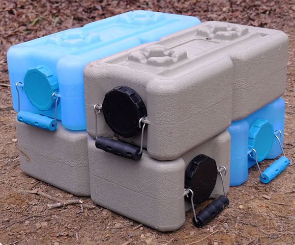Stackable Water And Food Containers 1