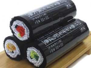 Sushi Roll Towels
