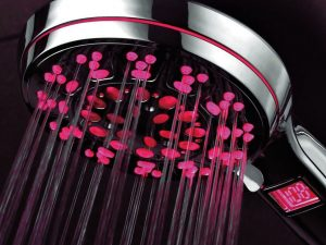 Temperature Reflective Shower Head 1