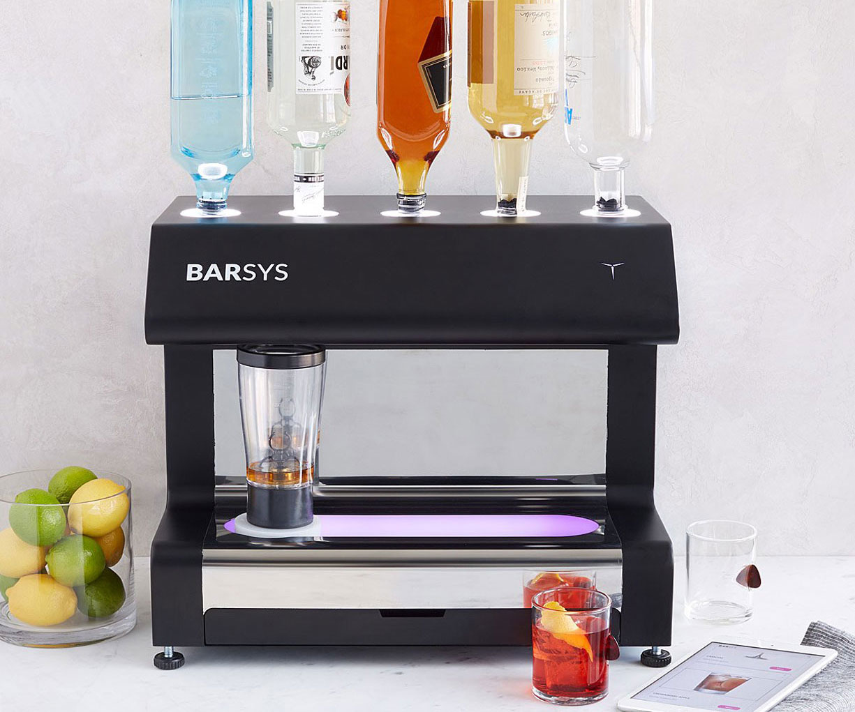 The Automated Robotic Cocktail Maker