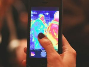 Thermal Camera iPhone Case