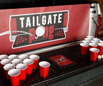Truck Bed Beer Pong Table 2