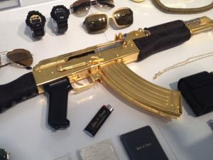 Versace Gold AK-47 Rifle