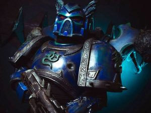 Warhammer 40K Space Marine Cosplay