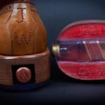 Whiskey Bottle Compartment Shoes 1