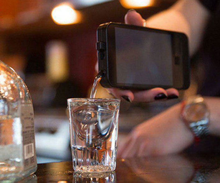 Iphone Shaped Flask 1